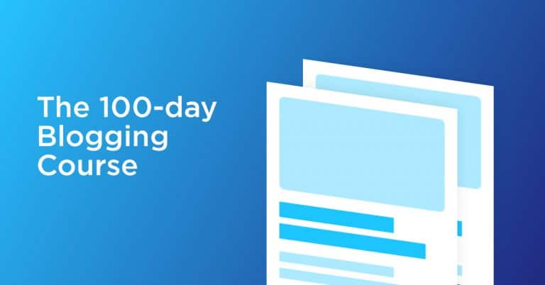 Course 11: 100 Day Blogging Course [ Worth ₹4999]
